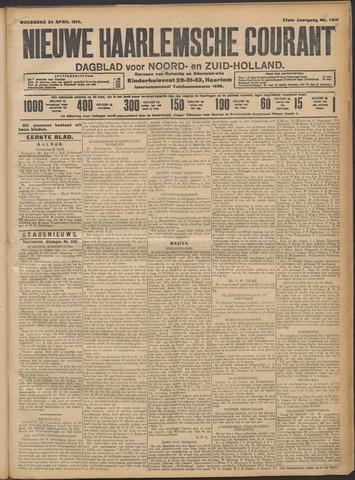 Nieuwe Haarlemsche Courant 1912-04-24