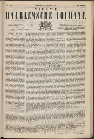 Nieuwe Haarlemsche Courant 1881-08-25