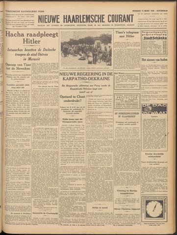 Nieuwe Haarlemsche Courant 1939-03-15