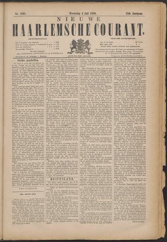 Nieuwe Haarlemsche Courant 1888-07-04