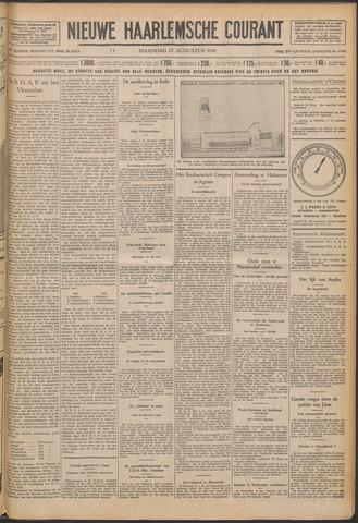 Nieuwe Haarlemsche Courant 1930-08-25