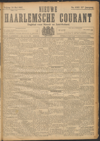 Nieuwe Haarlemsche Courant 1907-05-24