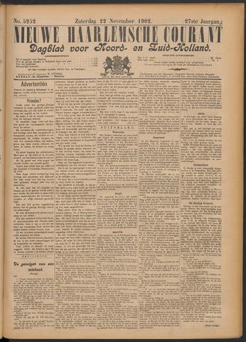 Nieuwe Haarlemsche Courant 1902-11-22