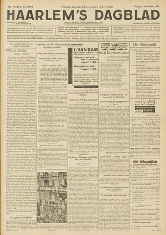Haarlem's Dagblad 1935-11-01