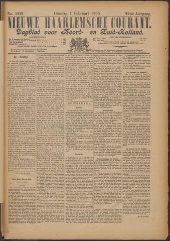 Nieuwe Haarlemsche Courant 1905-02-07