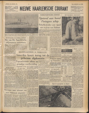 Nieuwe Haarlemsche Courant 1961-01-24
