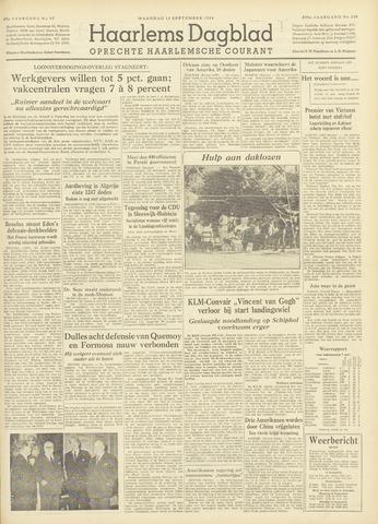 Haarlem's Dagblad 1954-09-13