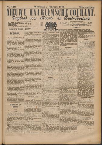 Nieuwe Haarlemsche Courant 1906-02-07