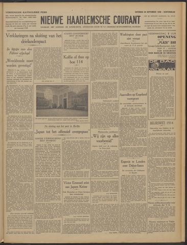 Nieuwe Haarlemsche Courant 1940-09-28