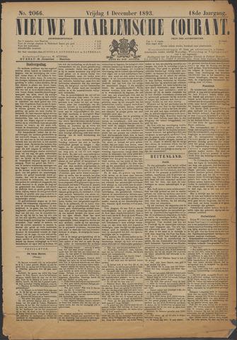 Nieuwe Haarlemsche Courant 1893-12-01