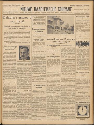 Nieuwe Haarlemsche Courant 1939-03-30