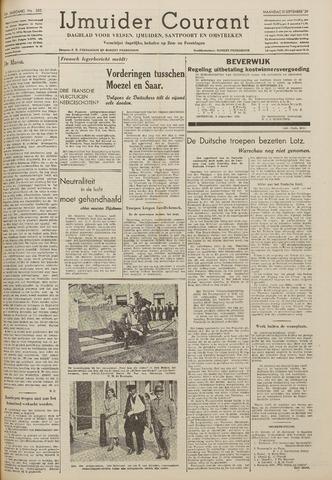 IJmuider Courant 1939-09-11