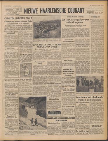 Nieuwe Haarlemsche Courant 1951-01-03