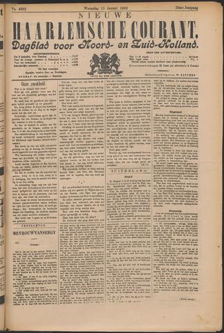 Nieuwe Haarlemsche Courant 1902-01-15