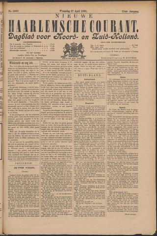 Nieuwe Haarlemsche Courant 1898-04-27