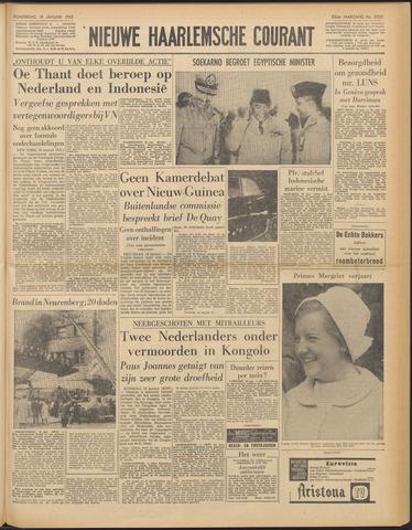 Nieuwe Haarlemsche Courant 1962-01-18