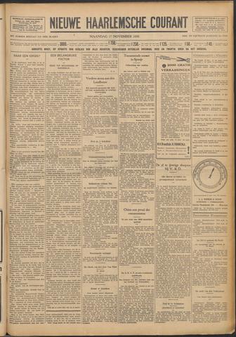 Nieuwe Haarlemsche Courant 1930-11-17