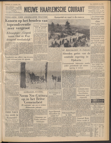 Nieuwe Haarlemsche Courant 1958-01-27