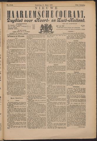 Nieuwe Haarlemsche Courant 1901-03-21