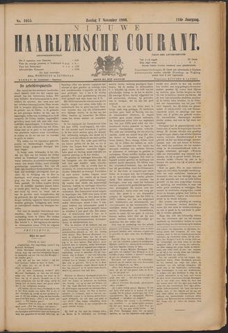 Nieuwe Haarlemsche Courant 1886-11-07