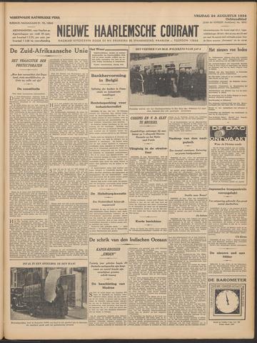 Nieuwe Haarlemsche Courant 1934-08-24