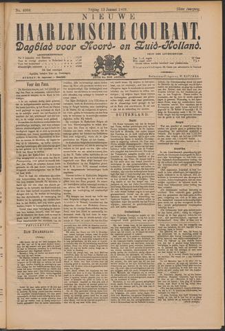 Nieuwe Haarlemsche Courant 1899-01-13