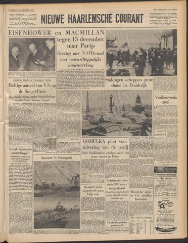 Nieuwe Haarlemsche Courant 1957-10-26