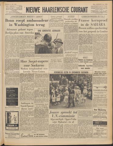 Nieuwe Haarlemsche Courant 1962-05-08
