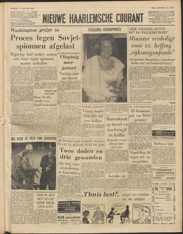Nieuwe Haarlemsche Courant 1964-10-03