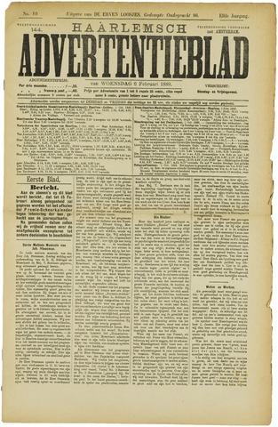 Haarlemsch Advertentieblad 1889-02-06