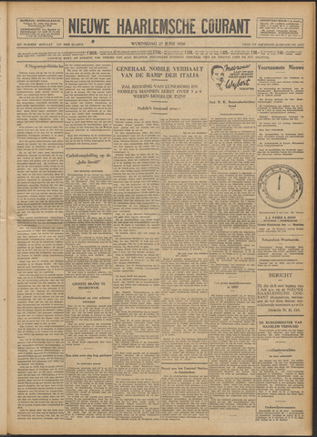 Nieuwe Haarlemsche Courant 1928-06-27