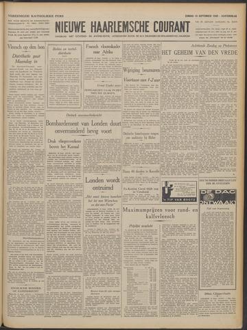 Nieuwe Haarlemsche Courant 1940-09-15