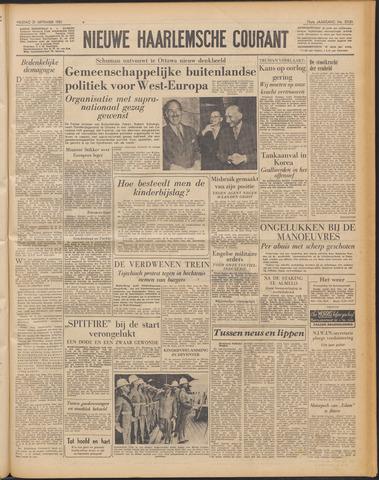 Nieuwe Haarlemsche Courant 1951-09-21