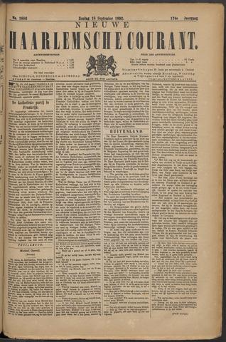 Nieuwe Haarlemsche Courant 1892-09-18