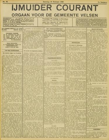 IJmuider Courant 1922-02-18
