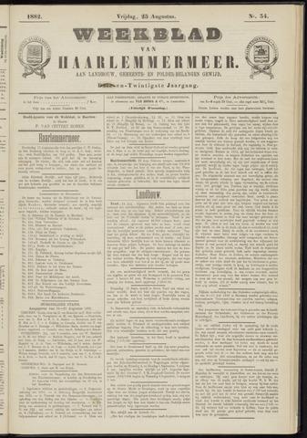 Weekblad van Haarlemmermeer 1882-08-25