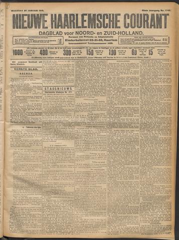 Nieuwe Haarlemsche Courant 1912-01-29