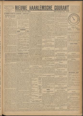 Nieuwe Haarlemsche Courant 1923-04-26