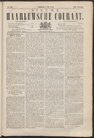 Nieuwe Haarlemsche Courant 1885-05-07