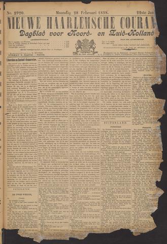 Nieuwe Haarlemsche Courant 1898-02-28