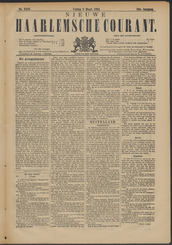 Nieuwe Haarlemsche Courant 1894-03-09