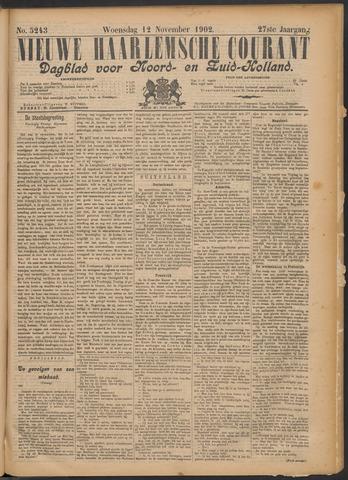 Nieuwe Haarlemsche Courant 1902-11-12