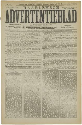 Haarlemsch Advertentieblad 1900-05-30