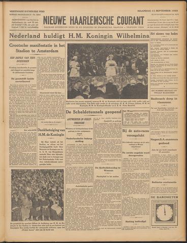Nieuwe Haarlemsche Courant 1933-09-11