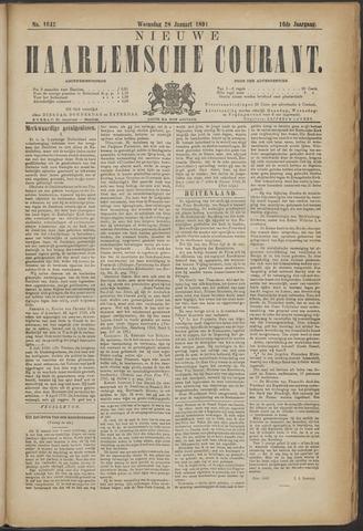 Nieuwe Haarlemsche Courant 1891-01-28