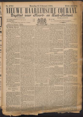 Nieuwe Haarlemsche Courant 1901-02-25