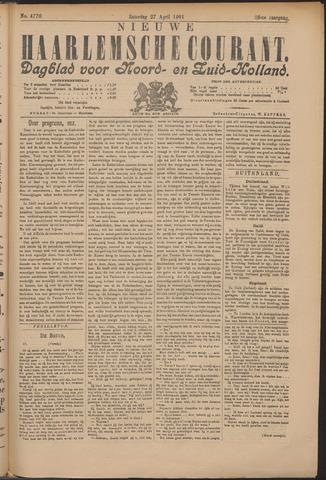 Nieuwe Haarlemsche Courant 1901-04-27