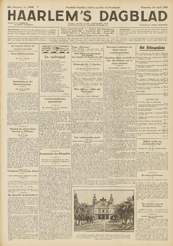 Haarlem's Dagblad 1935-04-24