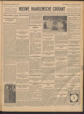Nieuwe Haarlemsche Courant 1933-08-09