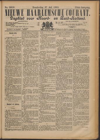 Nieuwe Haarlemsche Courant 1905-07-27
